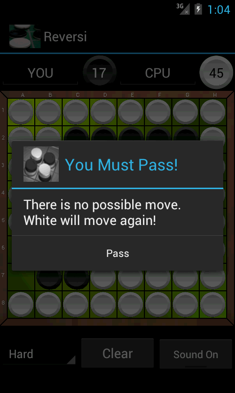 Free Reversi- screenshot