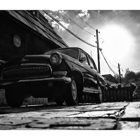 Old shape! by Marko Icelic - Black & White Objects & Still Life