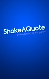 Shake A Quote- screenshot thumbnail