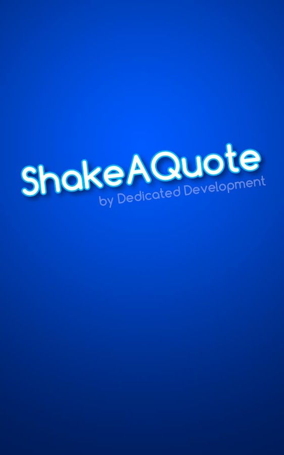 Shake A Quote- screenshot
