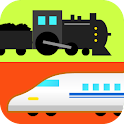 Happy trains! for Young kids logo
