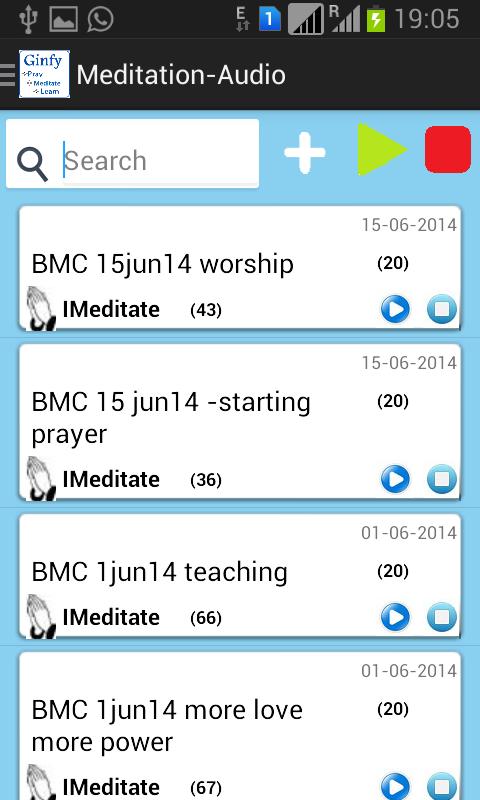 Ginfy- Pray, Meditate & Learn - screenshot