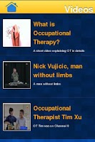 Screenshot of Occupational Therapy