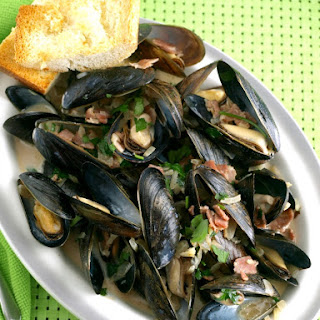 Mussels in Irish Ale