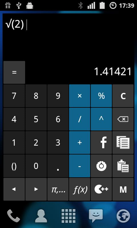 Calculator ++ - screenshot