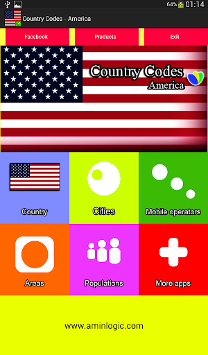 Country Codes - America