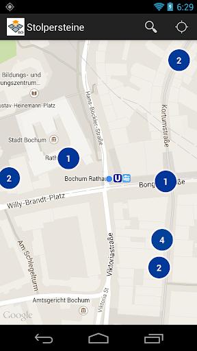 玩教育App|Stolpersteine in Bochum免費|APP試玩