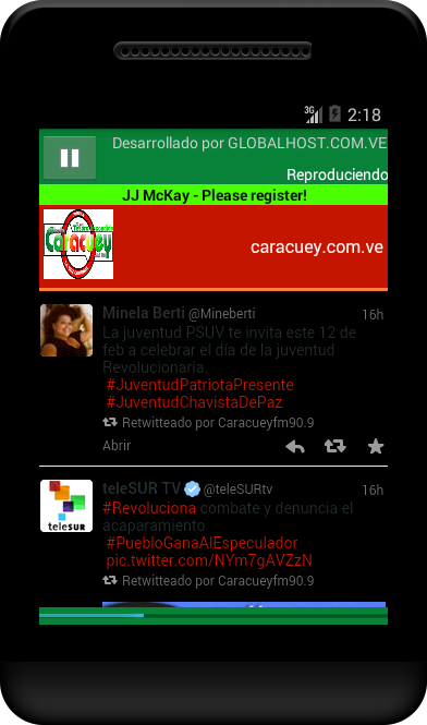 CARACUEY 90.9 FM- screenshot