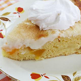 Peaches & Cream Pie