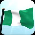 Nigeria Bandera 3D Gratis icon