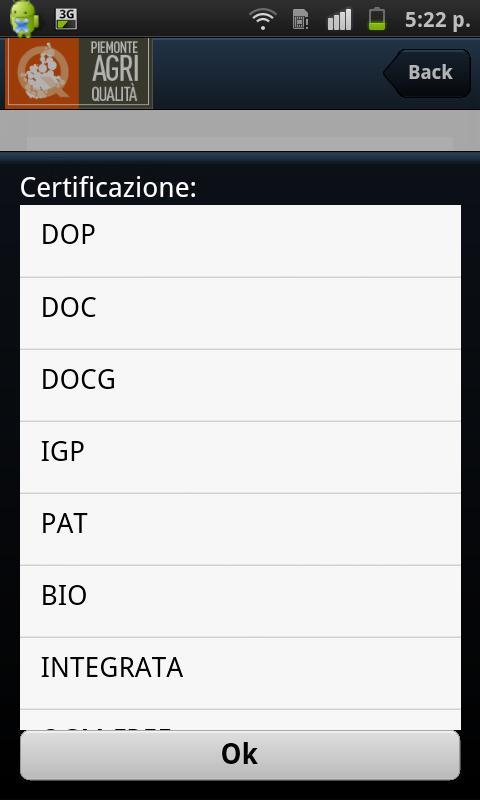 Piemonte Agri Qualità- screenshot