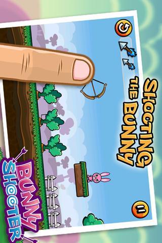 Bunny Shooter Free Funny Archery Game Screenshot