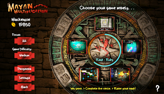 Mayan Multiplication- screenshot thumbnail