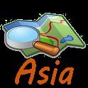Asia Map icon