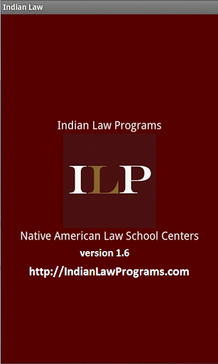Indian Law Programs for Tablet