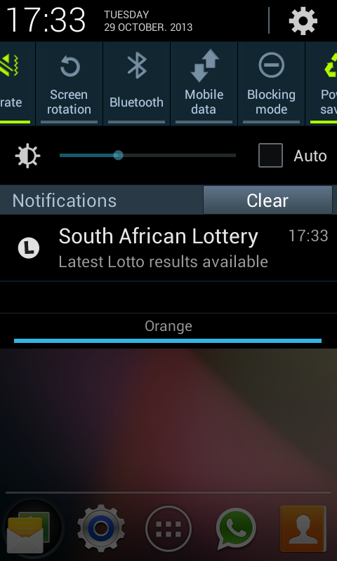 SA Lotto & Powerball Results - screenshot