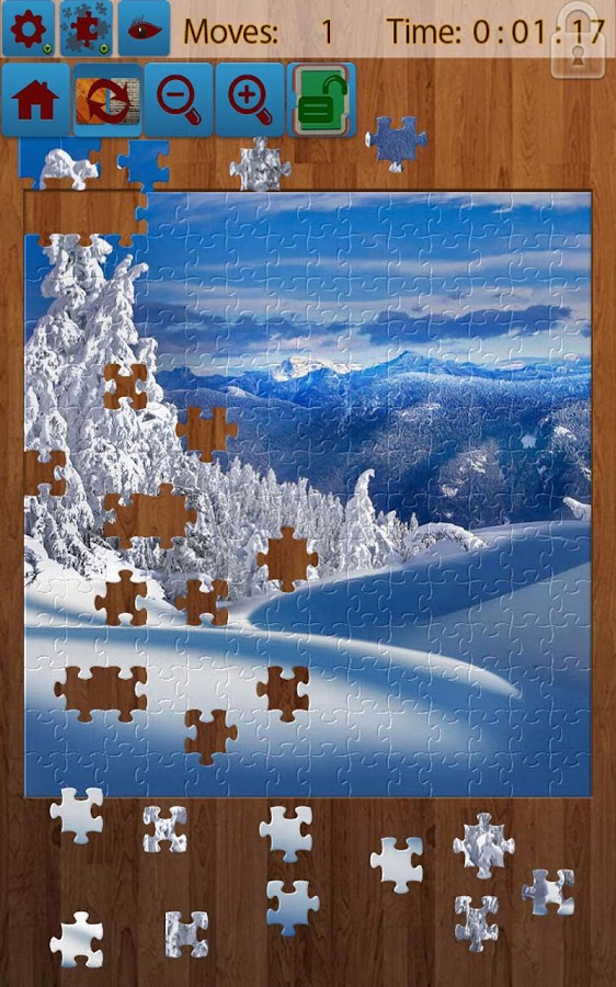 Snow Landscape Jigsaw Puzzles - screenshot