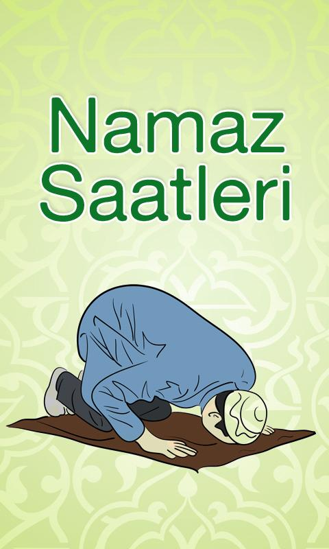 Namaz Saatleri - screenshot