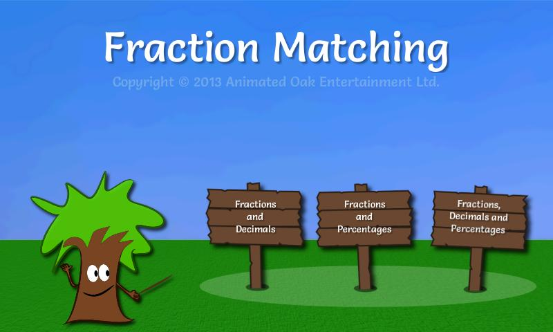 Math Game: Fractions Demo - screenshot