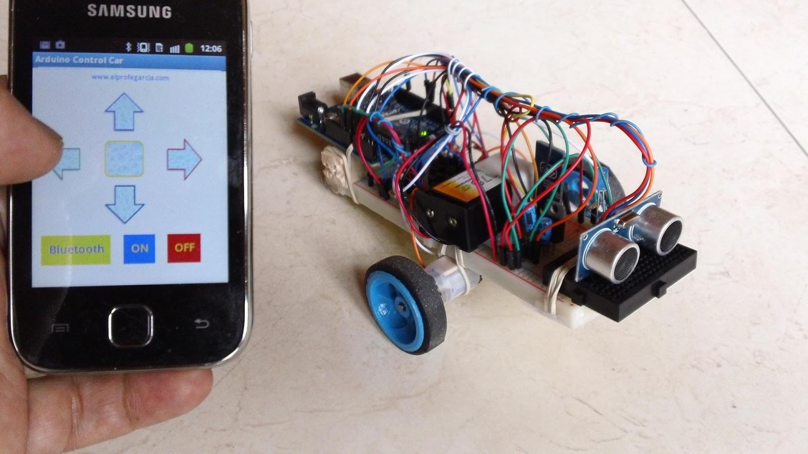 Arduino control car aplicaciones android en google play