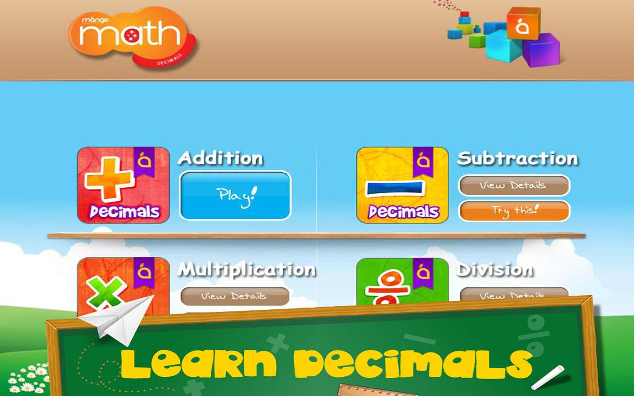 Math: Decimals Division- screenshot