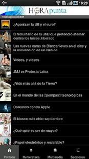 HoraPunta- screenshot thumbnail