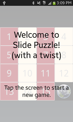 Slide Puzzle with a twist