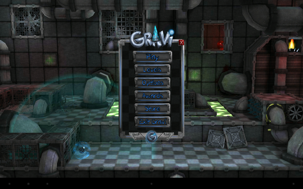 Gravi- screenshot