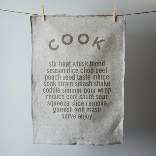 """Cook"" Tea Towel"