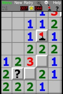Minesweeper pico- screenshot thumbnail