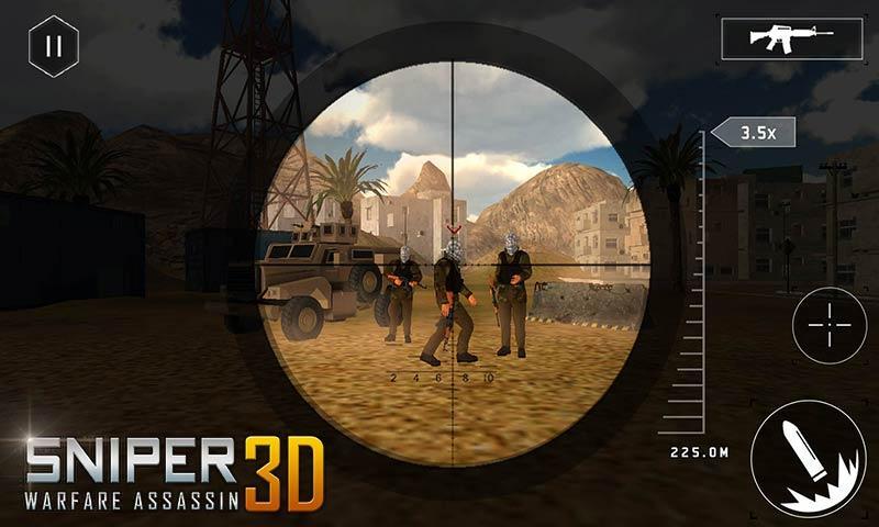 sniper 3d cheats