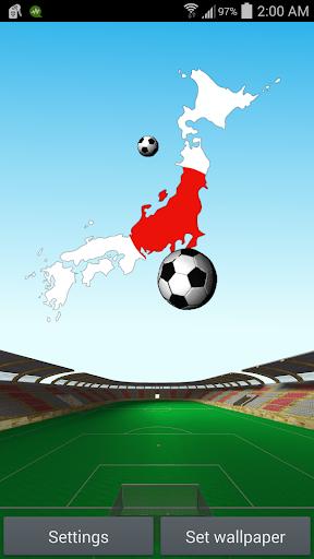 日本足球动画壁纸