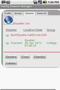 Family Disaster Manager-Free- screenshot thumbnail