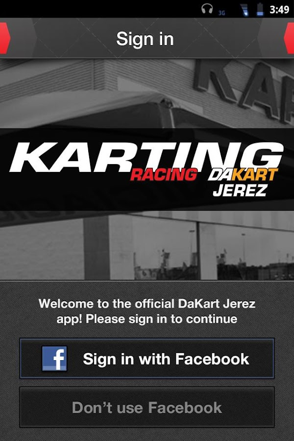 Karting Jerez: captura de pantalla