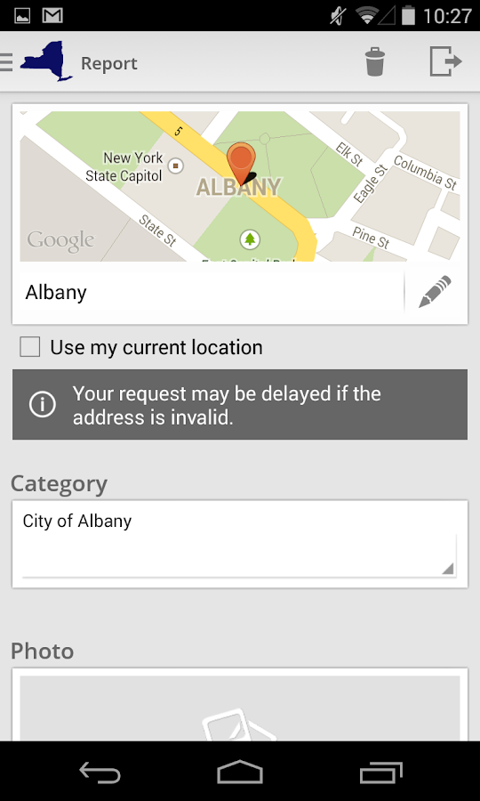 AlbanyWorks4U- screenshot