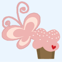 Butterflies and Cupcakes LWP icon