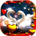 Valentine Birds live wallpaper