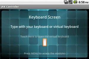 Screenshot of JRK Controller Lite