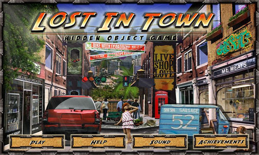 Lost in Town - Hidden Objects