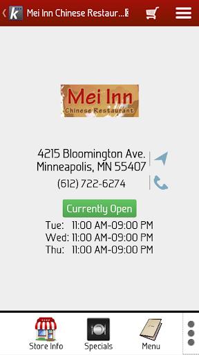 Mei Inn Chinese Restaurant