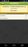 Screenshot of Rail Alarm