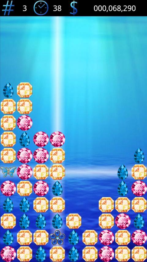 Samegame Jewel- screenshot