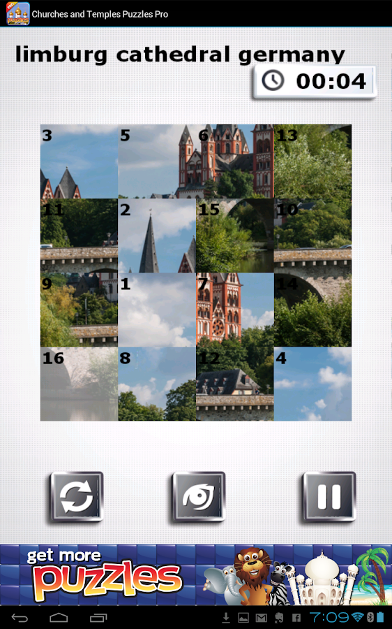 Churches & Temples Puzzles - screenshot