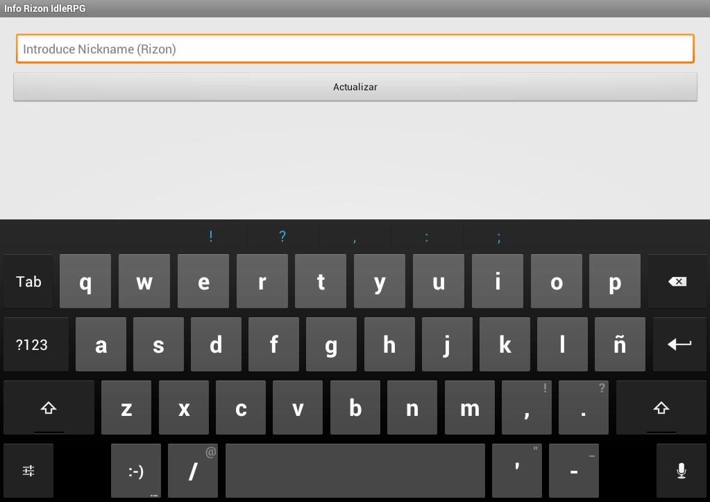 iRPG Rizon - screenshot