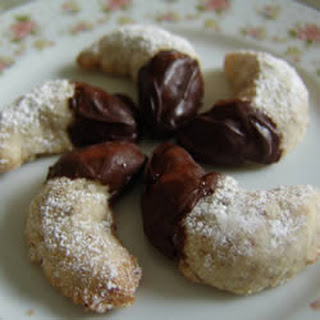Viennese Crescent Holiday Cookies.