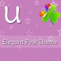 GO Launcher Elegant Pink Theme icon