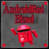 Red Android Blend NextLauncher
