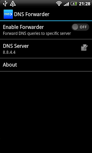 DNS forwarder