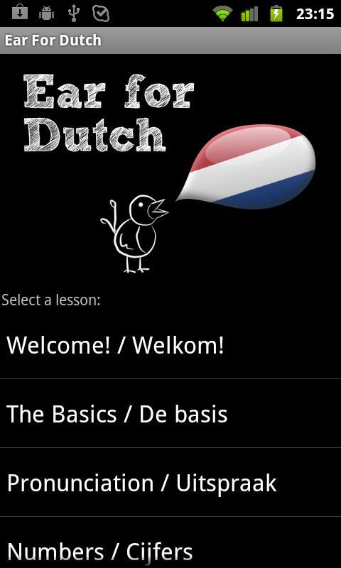 Learn Dutch with Ear for Dutch- screenshot