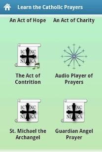 Learn the Catholic Prayers- screenshot thumbnail